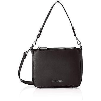 MARCO TOZZI 2-2-61018-24 - Crossbody väska, 8,5 x 17 x 22 cm, Svart (Svart)), 8,5x17x22 cm (B x H x T)
