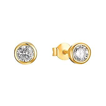 s.Oliver - Naisten korvakorut hopeassa 925 kullattu zirkonilla(3)