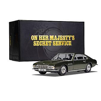 Aston Martin DBS van James Bond On Her Majesty's Secret Service