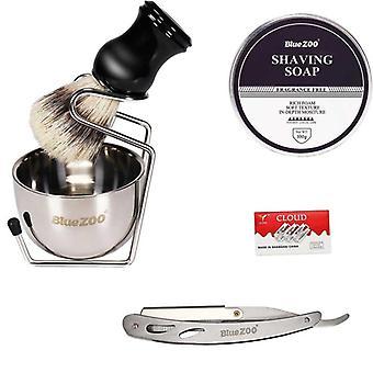 Shaving Cream Shaving Brush And Foam Bowl