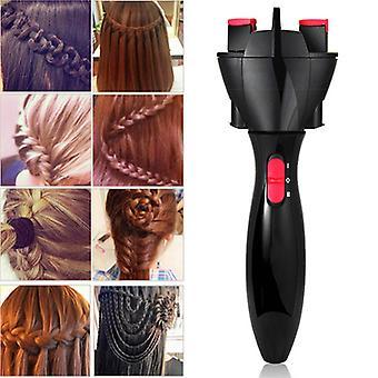 Автоматическая волосы Braider Электрические волосы Braider Автоматическая Твист Braider вязание машина DIY Twister Styler волос Укладка инструмент