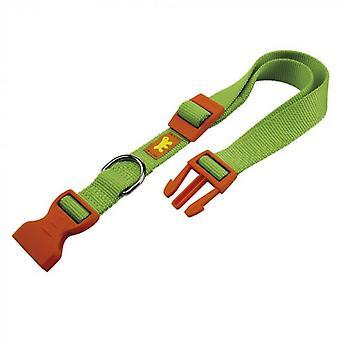 Ferplast Nylon Club Collar Green (Hundar, Krage, Ledningar och Selar, Krage)