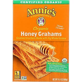 Annie's Homegrown Cracker Graham Honey, Koffer van 12 X 14.4 Oz