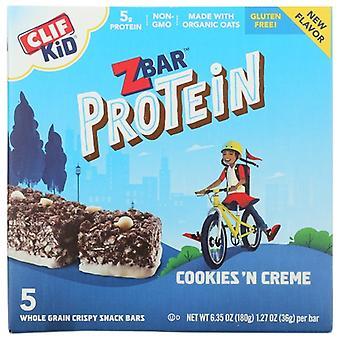 Clif Kid Bar Cookies & Cream, Case of 6 X 6.35 Oz