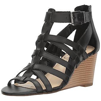 Jessica Simpson Womens Cloe Leather Open Toe Casual Strappy Sandals