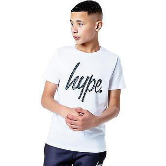 ハイプ子供/キッズコンバットスクリプトTシャツ