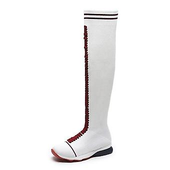 New Sock Boots For Woman, Fashion Mesh Boot