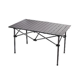 Outdoor Folding Aluminum Alloy Table Rectangular Car Barbecue Table