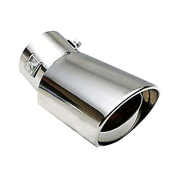 Universal Car Vehicle Stainless Steel Tail Throat Exhaust System Muffler Pipe