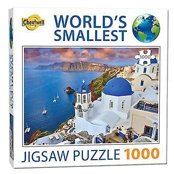Puzzle più piccolo del mondo - Isola di Santorini (1000 pezzi)
