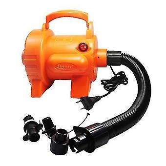 Pompa dell'aria elettrica da 800W con 4 ugelli Pompa d'aria a riempimento rapido per materassi ad aria Anelli di nuoto Airbeds