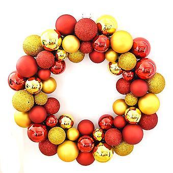 Bola de Navidad Guirnalda Guirnalda Navidad Decoración 35cm