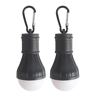 2pcs Led Camping Light Bulbs With Clip Hook