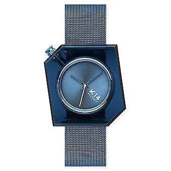 Klasse14 K14 Blue Milanese Mesh Bracelet 40mm WKF20BE002M Watch