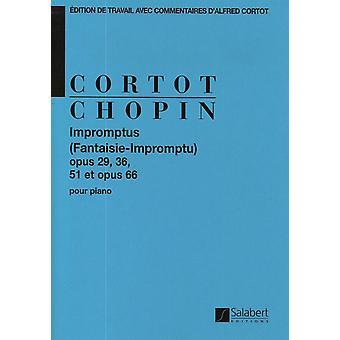 Chopin: Impromptus (Fantaisie-Improviso), Op. 29, 36, 51