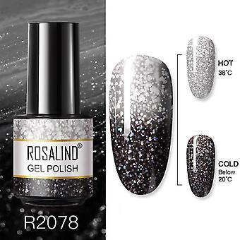 Gel nail polish cheese snowflake candy series 7ml nail art design manicure semi permanent hybrid varnish 72 colors