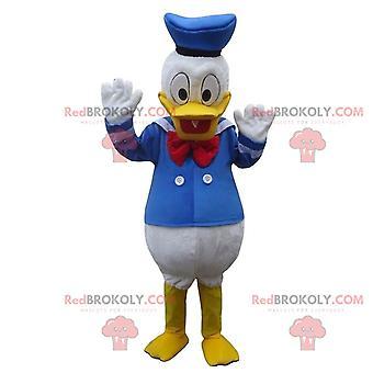 Mascotte REDBROKOLY.COM de Donald Duck, célèbre canard Disney