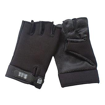 Men Camouflage Tactical Gloves For Outdoor Sport Cycling Half Finger Warmer