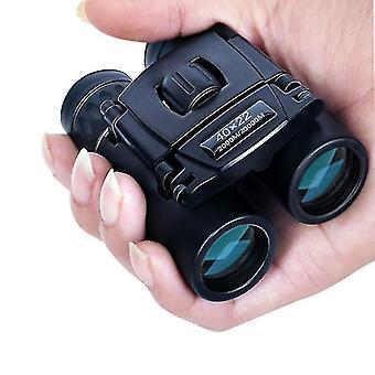 40x22 Hd Leistungsstarke Ferngläser 2000m Long Range Falten Mini Teleskop Bak4 Fmc Optik für Jagd Sport Outdoor