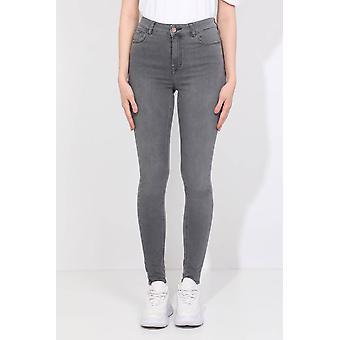 Skinnende stein detaljert skinny jeans