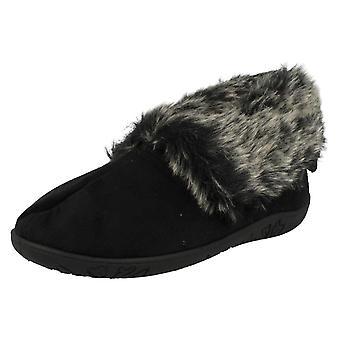 Donna foulard a memoria schiuma Boot pantofole Eskimo