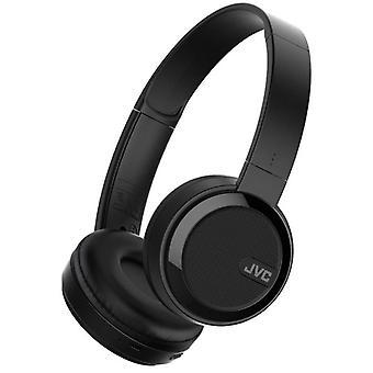 JVC Foldable Bluetooth On Ear Headphones - Black (Model No. HAS40BTBE)