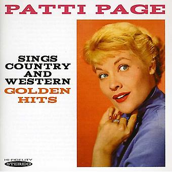 Patti Page - importation USA chante Country & Western Golden Hits [CD]