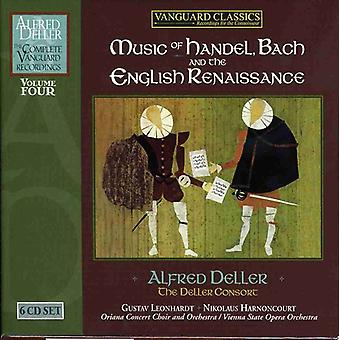 A. Deller - Music of Handel, Bach and the English Renaissance [CD] USA import