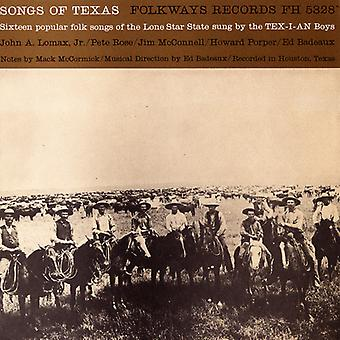 Tex-I-an Boys - Songs of Texas [CD] USA import