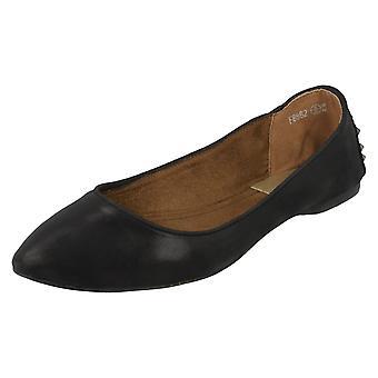 Miejscu panie na płaskie baleriny szpiczaste buty F8862