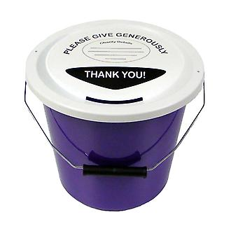 3 hyväntekeväisyys rahaa kokoelma kauhat 5 litraa - violetti