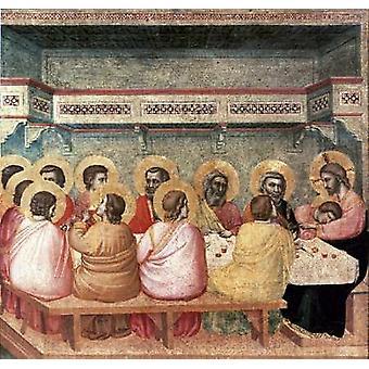 Stampa del manifesto del Cenacolo di Giotto