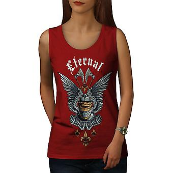 Knight Eternal Fantasy Top RedTank femmes | Wellcoda