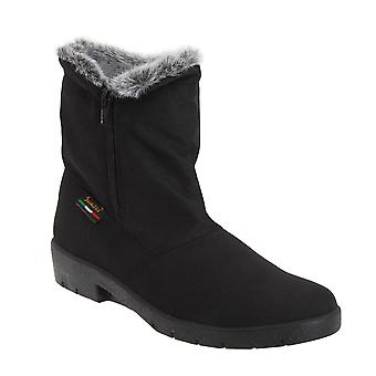 Mod Comfys Womens/Ladies Side Zip Warmlined Thermal Winter Boots