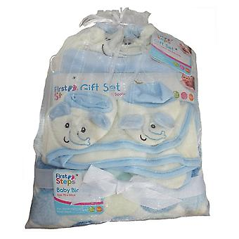 Eerste stappen Baby Gift Set Hat laarsjes 2 dekens