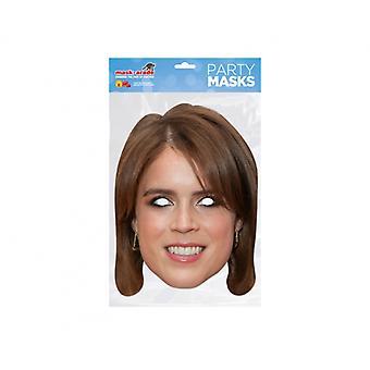Princess Eugenie 2D Card Party Fancy Dress Mask