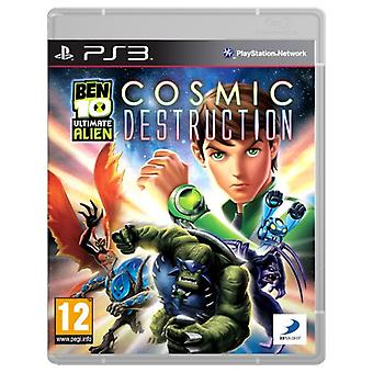 Ben 10 Ultimate Alien Cosmic Destruction (PS3) - Nouveau