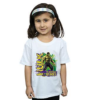 Marvel tytöt Avengers Hulk uskomaton Avenger t-paita