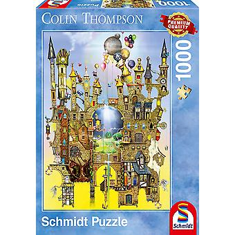 Schmidt Colin Thompson Castle in The Air Premium Jigsaw