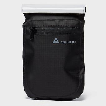 New Technicals Water Resistant Chest Wallet Travel Accessory Black