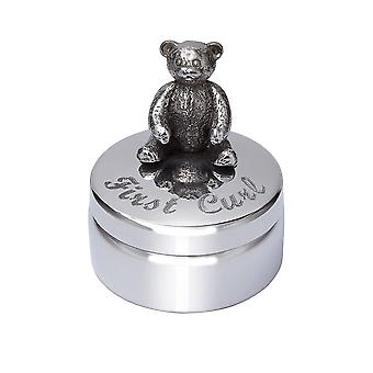 Primeira onda Teddy Pewter Trinket Box