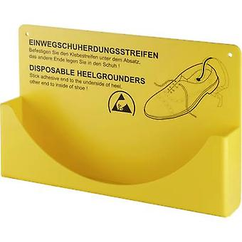 Wolfgang Warmbier Disposable ESD enkelbanden 1 pc(s) Geel 2560.894.H