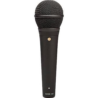 RODE Mikrofone M1 Mikrofon (Gesang) Transfertyp:Corded inkl. Clip