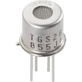 Czujnik gazu TGS-2610 Figaro 183301 dla LP gazów alkoholu, metan, propan, butan Iso (Ø x H) 9,2 x 7,8 mm