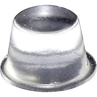 TOOLCRAFT PD2164C noha samolepicí, kruhový průhledný (Ø x H) 16,5 mm x 10,2 mm 1 PC (s)