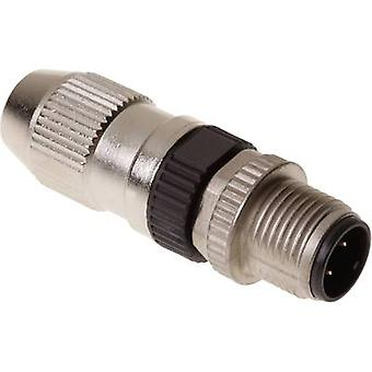 21 03 111 1405 Sensor/Aktor Hartingstecker M12 Stecker gerade Nr. Pins (RJ): 4 1 PC