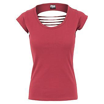 Urban Classics Damen T-Shirt Cutted Back Tee
