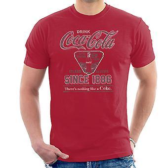 Coca Cola voor die verfrissend nieuwe gevoel T-Shirt voor mannen