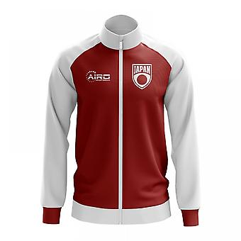 Japan koncept fodbold Track jakke (rød)