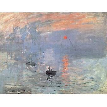 Sunrise, Claude Monet, 48x60cm
